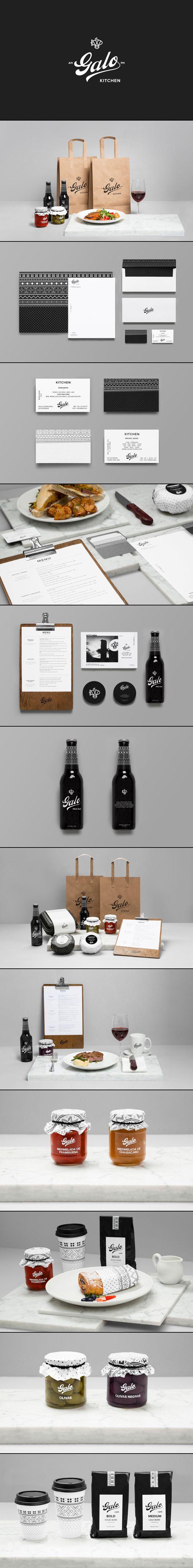 Galo Kitchen by Anagrama #branding #design