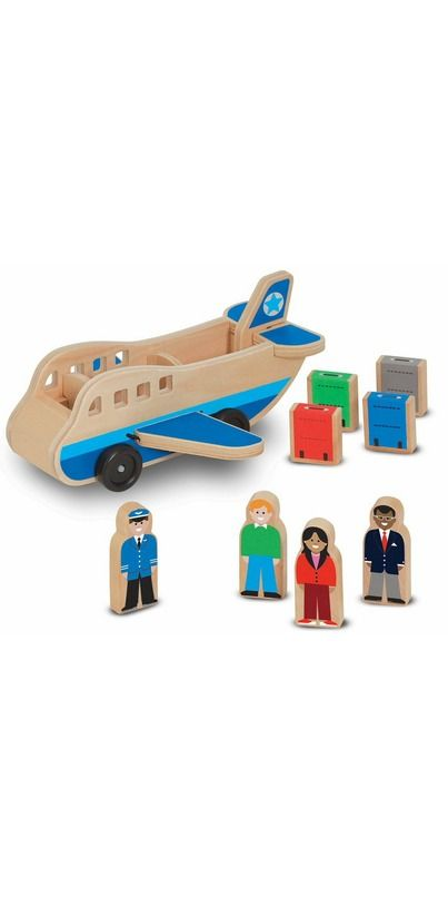 Buy Melissa & Doug Airplane Wooden Airplane Online in Canada   FREE Ship $29+