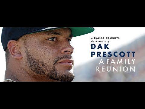 Dak Prescott: A Family Reunion (Full Documentary) - YouTube. A Dakumentary. Made me laugh, cry and so thankful for him.