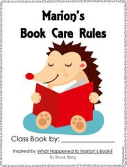Happy Fall Giveaway!! Enter for your chance to win 1 of 2. Class Books: Book Care Rules based on What Happened to Marion's Book?  (12 pages) from Windup Teacher on TeachersNotebook.com (Ends on on 10-05-2015) My students enjoyed my latest book care lesson, so I thought I'd share this product for this month's giveaway!! .