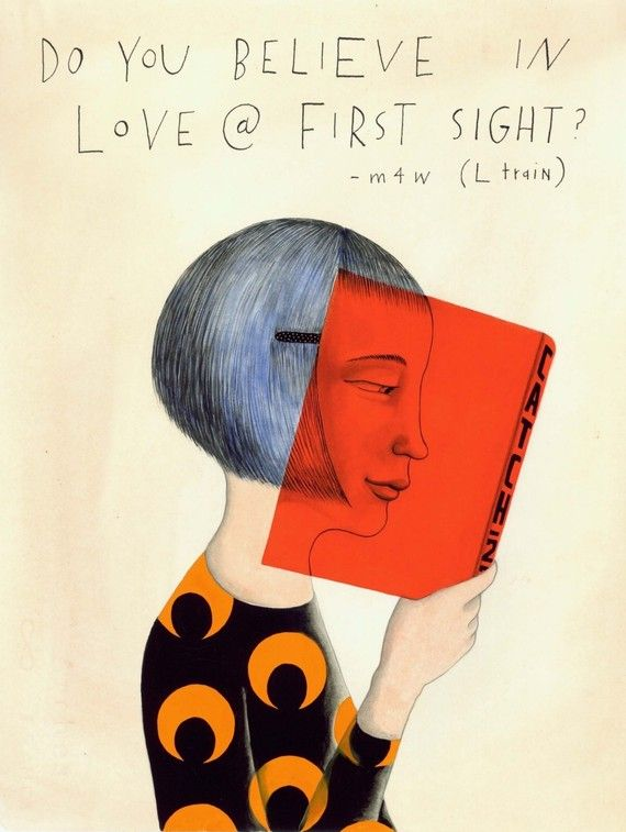 Do You Believe in Love at First Sight by SophieBlackall on Etsy,