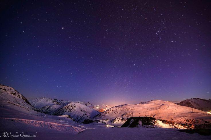 Sky with stars ! - Alpe d'Huez