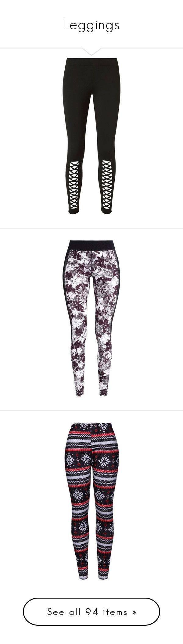 """Leggings"" by vampirekitty34 ❤ liked on Polyvore featuring pants, leggings, topshop, black, ankle length pants, logo pants, ankle length leggings, topshop trousers, topshop leggings and elastic waistband pants"