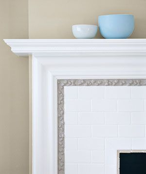How to paint your tile.  Discovered this at Real Simple - looking forward to covering up the hideous color of the tile on my fireplace!