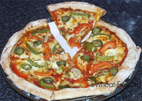 gluten free pizza crust recipe, a crisp, no flop, thin crust pizza ...