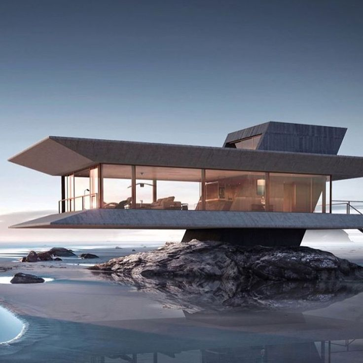 """364 mentions J'aime, 5 commentaires – ARCHITECTURE AND DESIGN (@off.architecture) sur Instagram : """"#offarchitecture The Beach House concept by Ioan Ralea-Toma."""""""