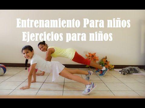 Entrenamiento Para niños- Ejercicios para niños 3 - Dey Palencia Reyes - YouTube