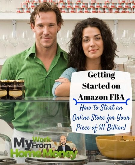 Complete guide how to get started selling on Amazon FBA to make thousands a month. The newest and one of the best work at home businesses with the power of Amazon behind it! Make your own brand and start making money online.