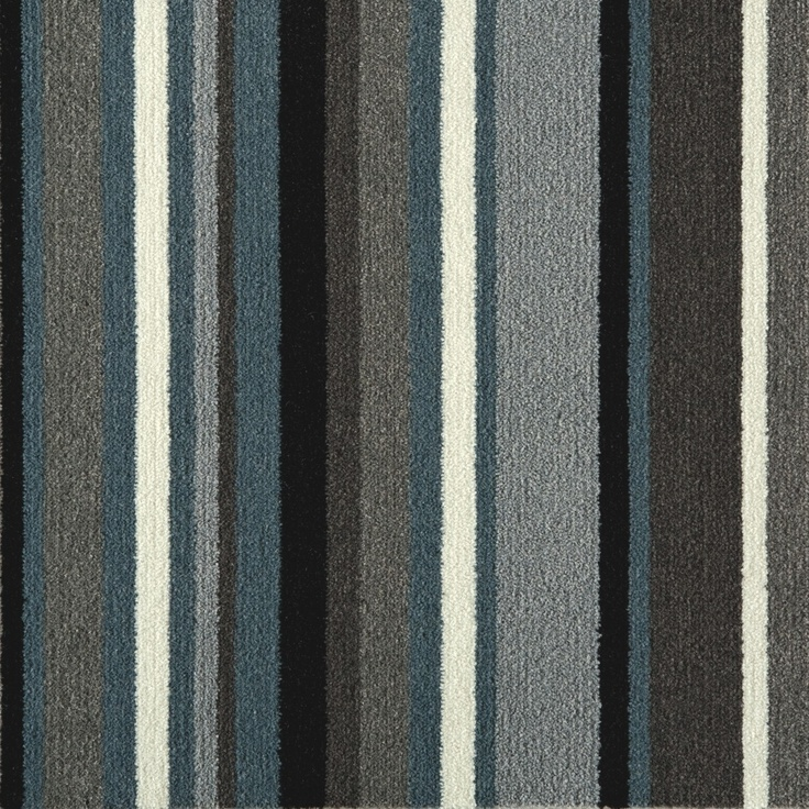 Grey Stripe Carpet Tiles For Rug From Flor Great For A