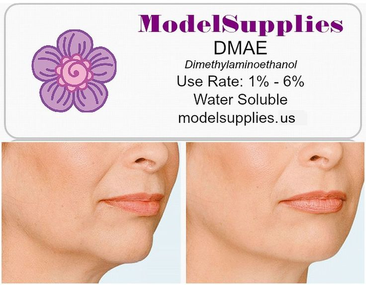 What is DMAE: DMAE is an antioxidant found in abundance in fish. Topically applied DMAE works within minutes of application, its firming effect lasting for nearly 24 hours. By continue using DMAE will results in firmer skin virtually wherever it's applied. | eBay!