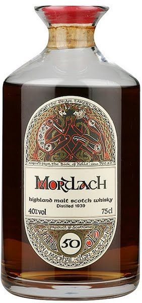 Gordon & MacPhail Mortlach 77 yr old Rare Highland Malt Scotch Whisky, Highlands, Scotland. ༺✿༺ Not too wee a price for a 1939 distilled and bottled 77 yr old whisky... $6,253.65.