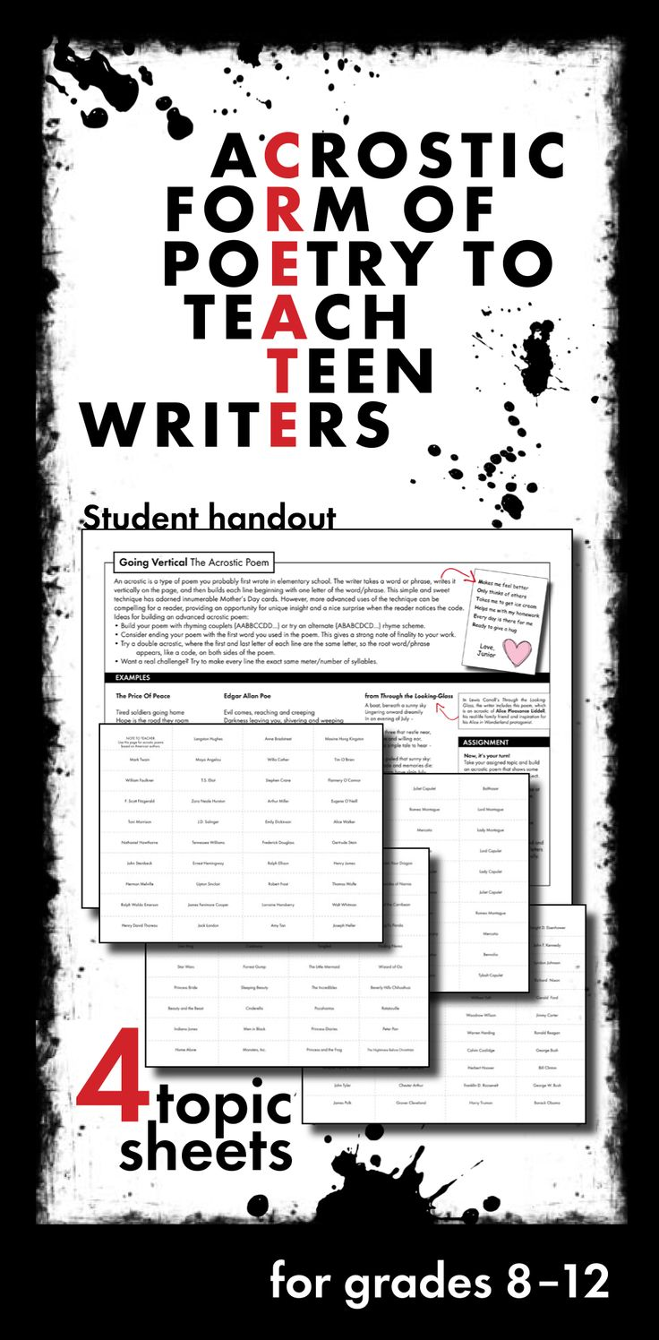creative writing for middle school Plus prompts for daily writing & guide for surviving the research paper gary chadwell twelve assignments every middle school student should write.