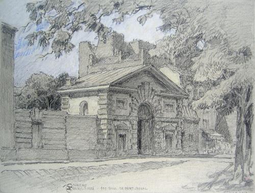 L'hôpital Cochin, 111 boulevard de Port-Royal, 1926 | Paris Musées