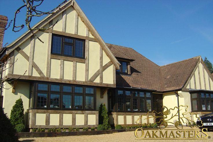 External house cladding - Oakmasters - Tudor style external oak cladding