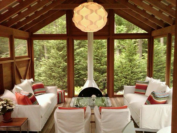 97 best Cabin Remodel- Malm Fireplace on Screened Porch images on ...