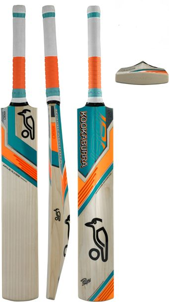 Kookaburra Impulse 700 Cricket Bat. Love the graphics on this bat...pairing that shade of mandarin orange with teal green with a neat black trim adds such an elegant and clean look to this blade. I have personally never used it but i consider Kookaburra to be the leading authority on cricket equipment in the world and would expect those who have this, to rate it highly.