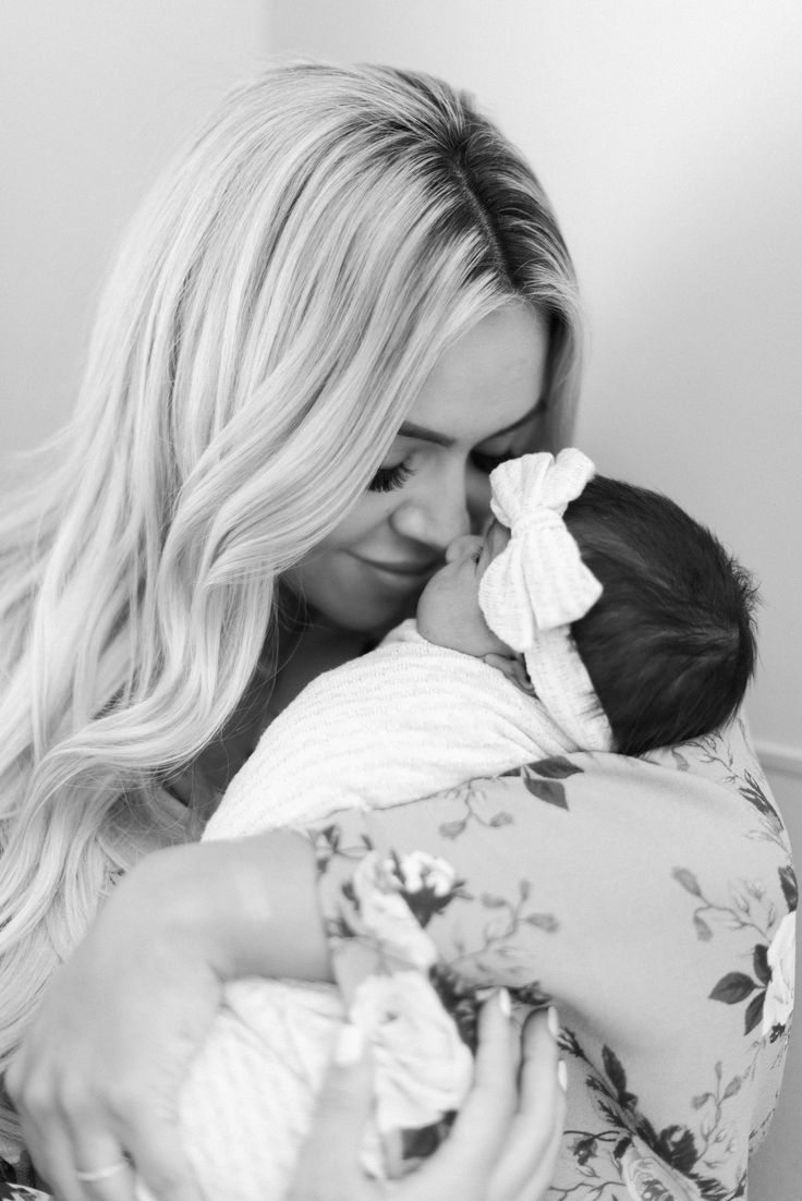 Tatum Olivia Thompson | Baby girl newborn hospital photos