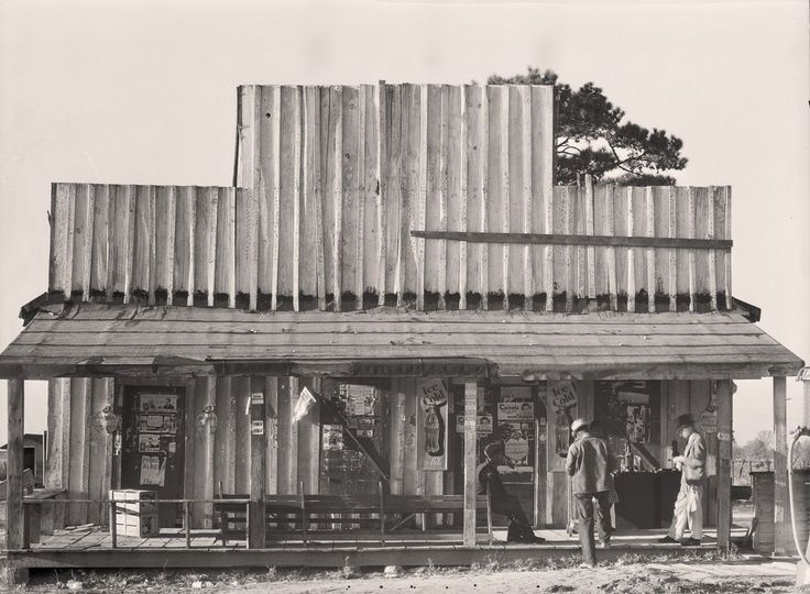 "Selma, Alabama Store Front Photo, Antique advertisements,  1936 - 24""x18"""