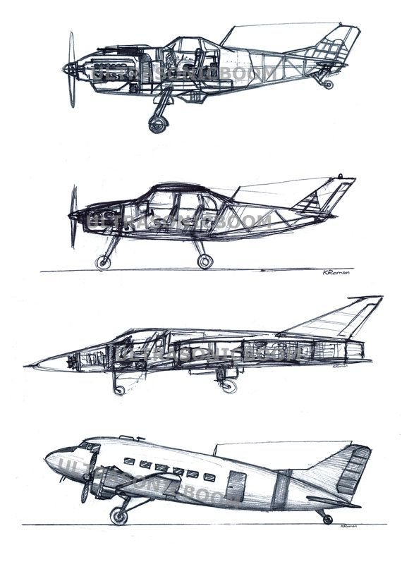 Line Drawing Airplane : Best aircraft images on pinterest airplane