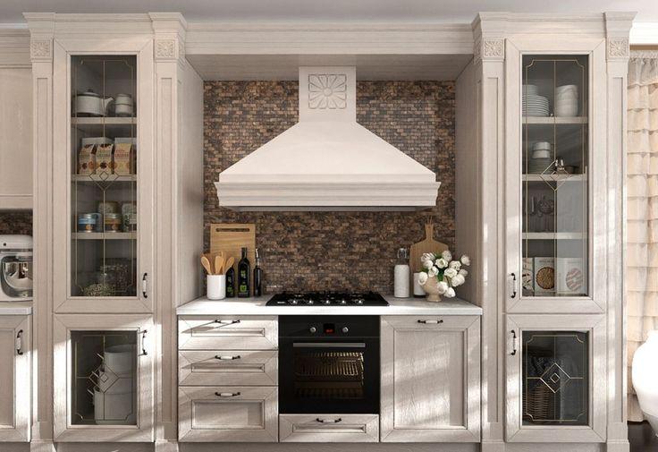 Кухня в стиле арт-деко: тонкости гармоничного интерьера и 75 избранных фотоидей на любой вкус http://happymodern.ru/kuxnya-v-stile-art-deko-foto/ Цветочные мотивы в оформлении кухни арт-деко: дизайнерский молочный кухонный гарнитур