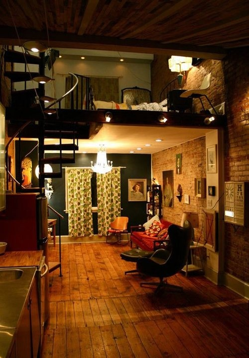 I wish I wish my new york city apartment to look like this.