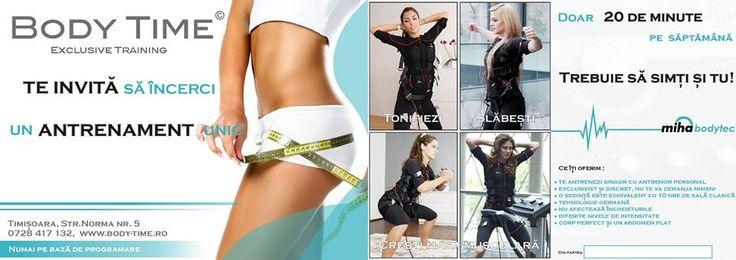 Lorena's Blog♥: Experiența Body Time - Electrostimulare musculară ...