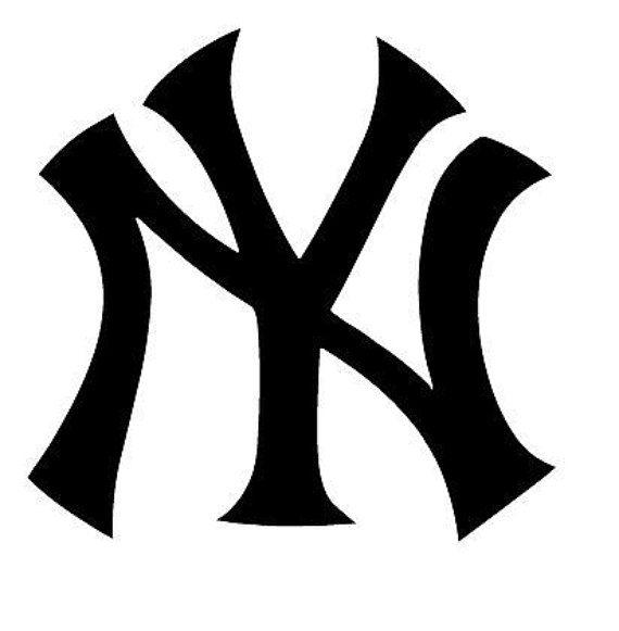 Enorme New York Yankees Vinilo Pegatina Calcomanía Pared Arte//cueva de hombre