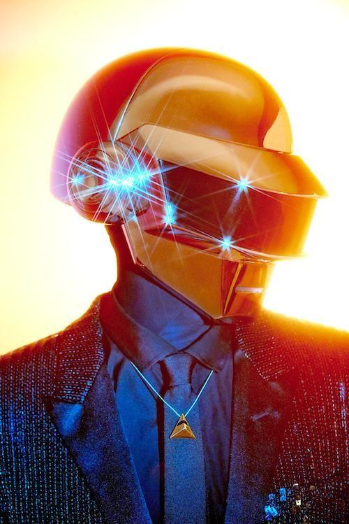 Thomas, Daft Punk, Vibe photoshoot