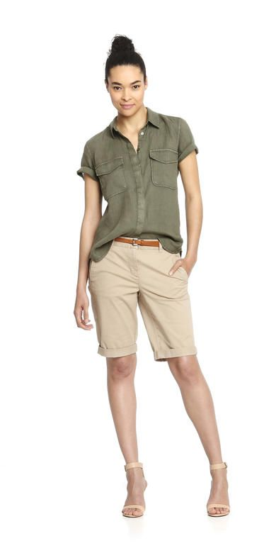 Short Sleeve Linen Shirt from Joe Fresh. Meet our new summer shirt, available in several fresh shades. Only $9.94.