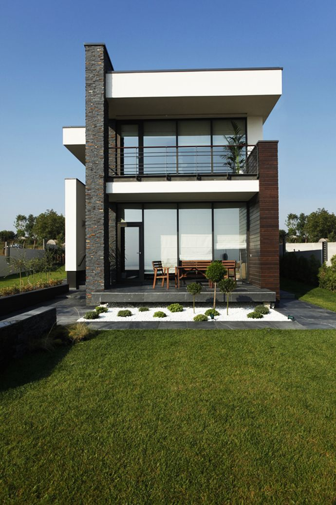 Best 25 contemporary houses ideas on pinterest modern Modern villa plan