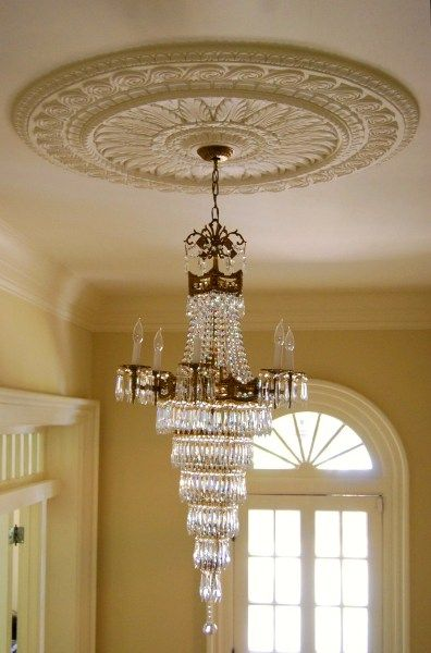 M10 48 Acanthus Leaf Ceiling Medallion 48x2 For The