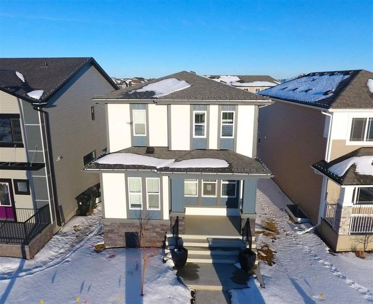 Brand New 3 Bed, 3 Bath Alquinn Home with Double Detached Garage for Sale in Spruce Grove!
