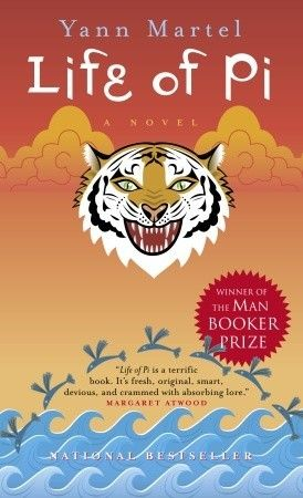 Life of Pi by Yann Martel, First Published: September 11th 2001, Genre: Adventure