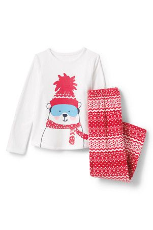 Girls  Graphic Fleece Sleep Set  f56361605
