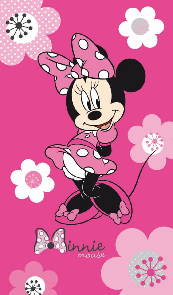 Disney Minnie Mouse Badetuch/Strandtuch Flowers bei Papiton bestellen.