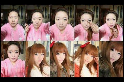 Ulzzang Makeup Before And After Korean Ulzzang Before ...