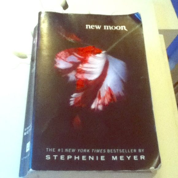 New Moon by  Stephenie Meyer from the twilight New moon book Other