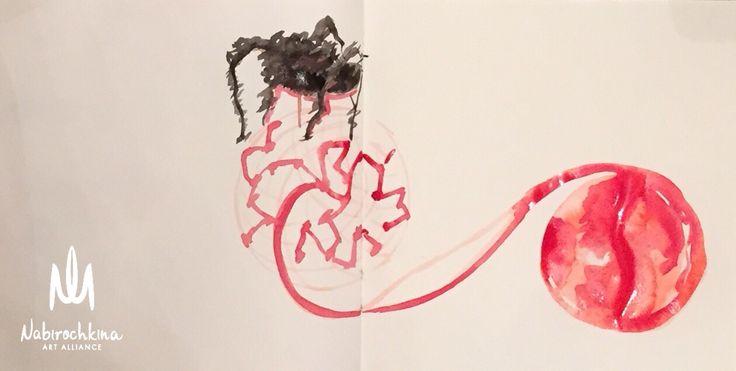 www.nabirochkina.com #louisebourgeois#garage#Moscow#ЛуизаБуржуа#Паучиха#клетки#Гараж##oilpainting#canvas#space#universe#artspace#abstract#сны#фантазия#portrait#Moscowart#moscowartist#contemporaryart#shou#modernart#moscowartist#bright_colors#яркие_краски#sketch#instaart#drawing#instadraw#illustration#Nabirochkina#Набирочкина