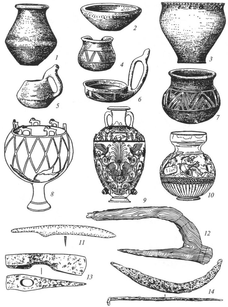 посуда древнего человека картинки и названия прикольные