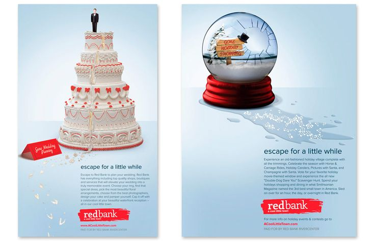 Advertising campaigns in banking using images