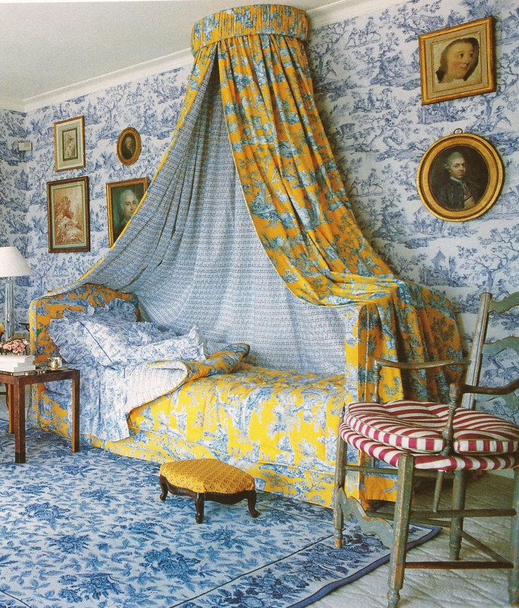 toile de jouy lit de repos pompadour2 18 c pinterest toile de jouy repos et toiles. Black Bedroom Furniture Sets. Home Design Ideas