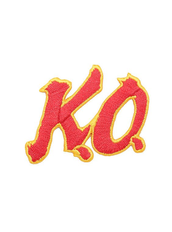 Street Fighter K O Iron On Patch Street Fighter Patches Iron On Patches