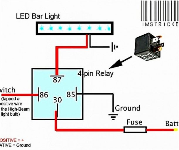 Led Light Bar Wiring Harness Diagram With Images Led Light