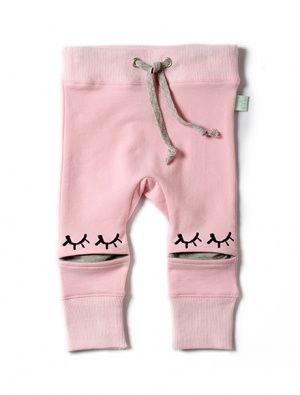 Buy Minti Hidden Knee Trackies Pink/Grey