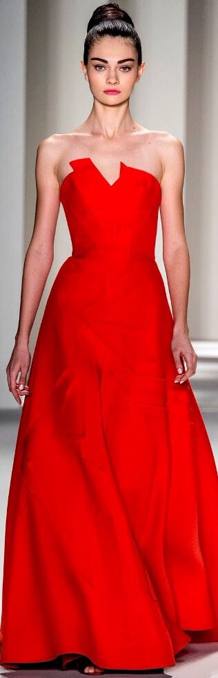 Carolina Herrera F/W 2014-15 New York