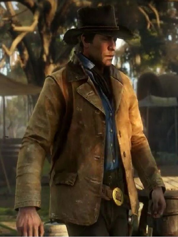 Video Game Arthur Morgan Coat | Top Celebs Jackets