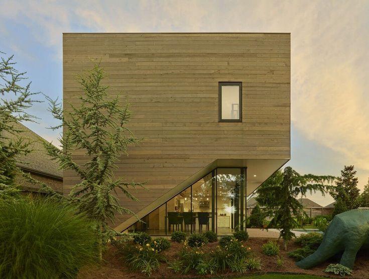 Srygley Poolhouse by Marlon Blackwell Architects