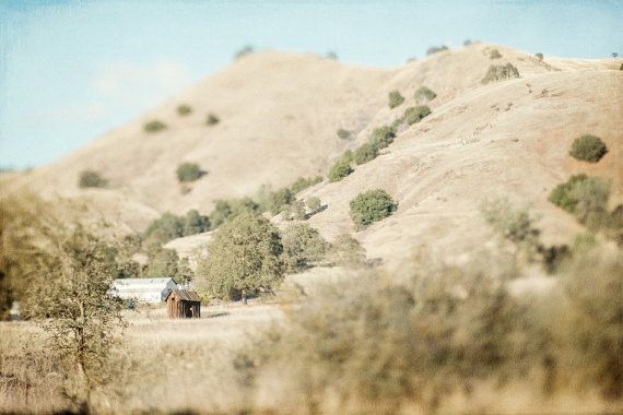 California Rolling Hills Landscape Photography Fine by SilversGlow