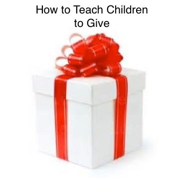 LD Action: Creating Possibilities: How to Teach Children to Give