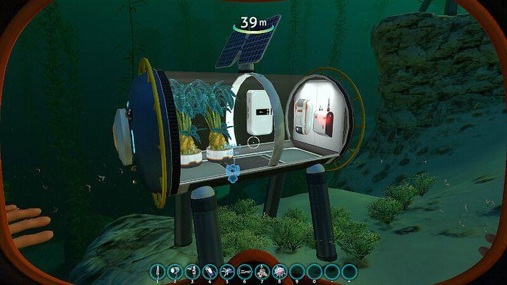 subnautica bases base starter sea gamescrack boats really multipurpose stuff solar panels compact